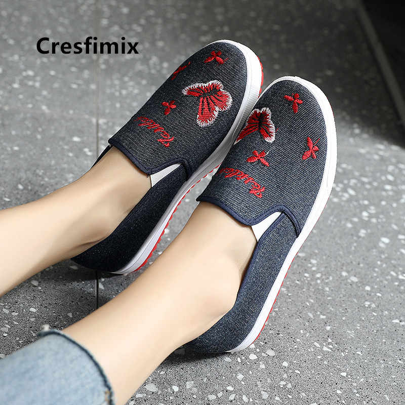Women Fashion Sweet High Quality Anti Skid Flat Platform Shoes Ladies Casual Comfortable Spring Slip on Loafers Zapatos E5609