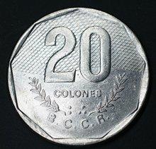 Costa Rica 20 Colones America Coins Original Rare Coin Commemorative Edition 100% Real недорого