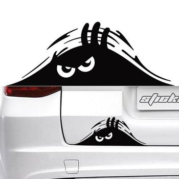 Waterproof Self-adhesive Car Sticker Scratch Cover Decal Auto Styling Eyes Peeking Car Big Decoration 3D Funny Stic E1K3 image