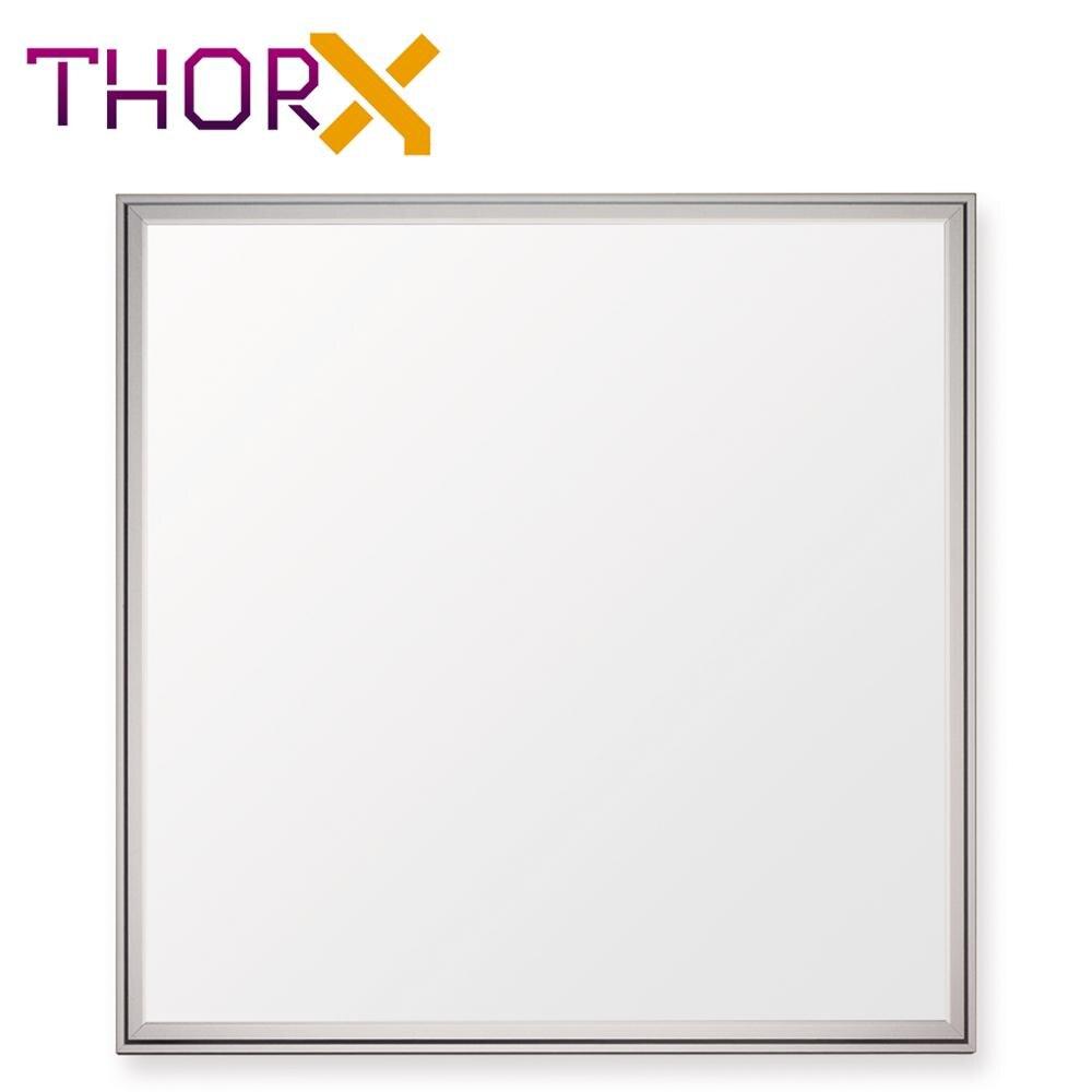 ThorX 60x60 cm Ultraslim LED Panel 36 W, 3000 Lm mit montage clips led treiber 100 240 V, kalt/warm/neutral weiß - 3