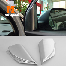 Speaker Trim-Cover Car-Styling-Accessories Interior Chrome Honda Crv for CR-V A-Pillar