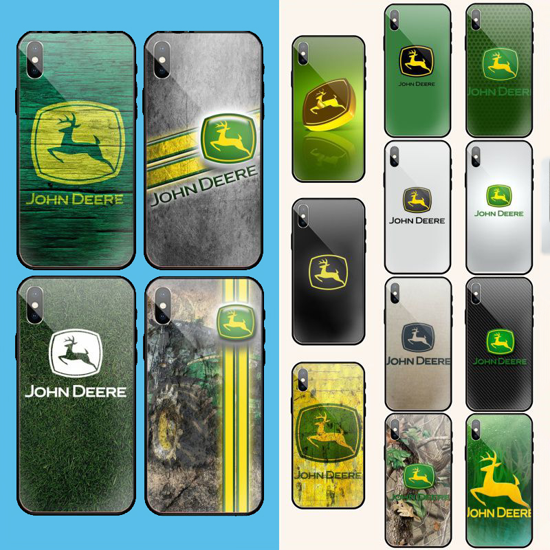 John Deere Customer High Quality Phone <font><b>Case</b></font> for <font><b>iPhone</b></font> 11 pro XS MAX 8 7 <font><b>6</b></font> 6S Plus X 5 5S SE XR <font><b>case</b></font> image
