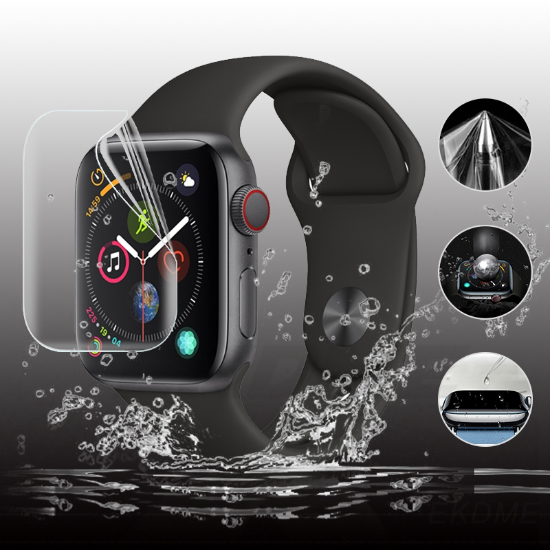 Soft Hydrogel Flim For Apple Watch Series 5 40mm 44mm Front Screen Scratchproof Protective Film For IWatch 44 Mm Glass