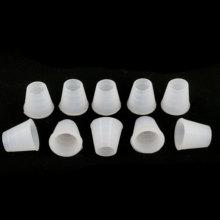 6 Pcs White Hose Grommet Rubber Seal for Shisha Ho