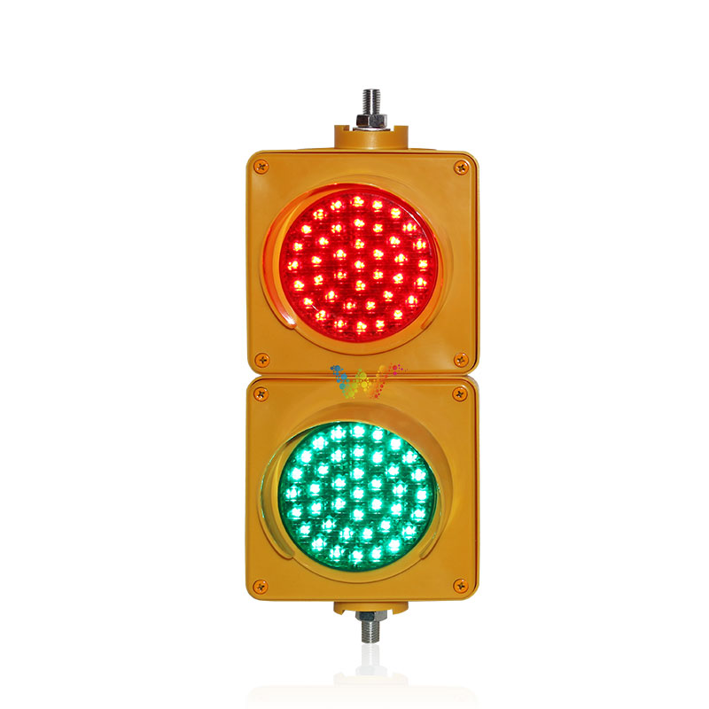 New Yellow PC Housing Cobweb Lens 100 Mm 220V 110V  Red Green Parking Signal Light