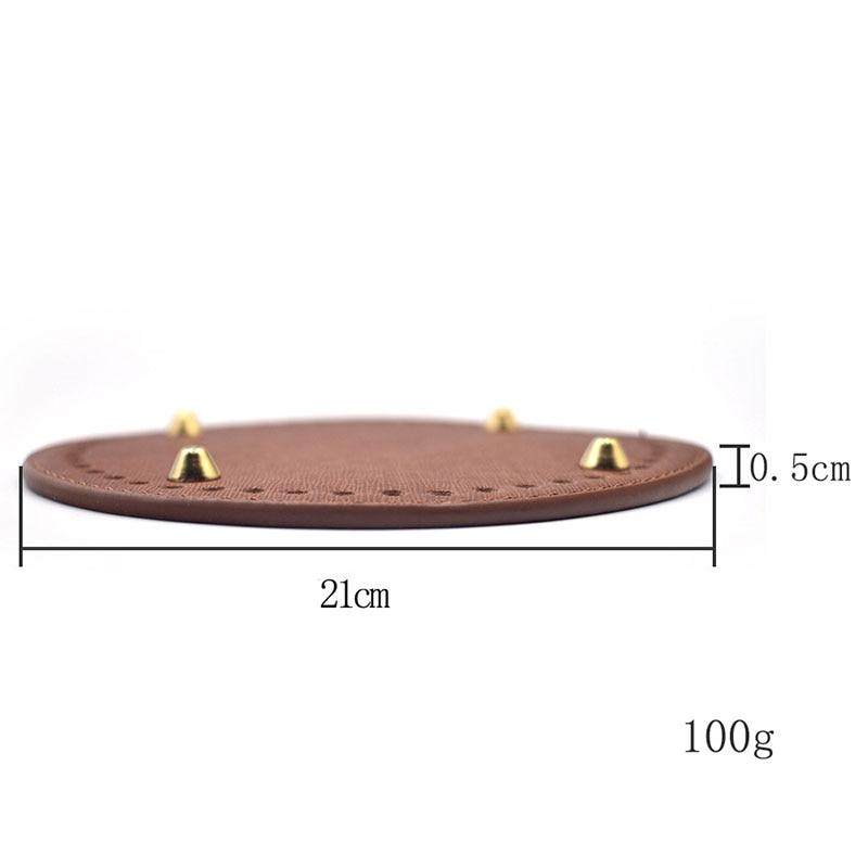 2 pces 21cm 21*21cm redondo rebite substituição