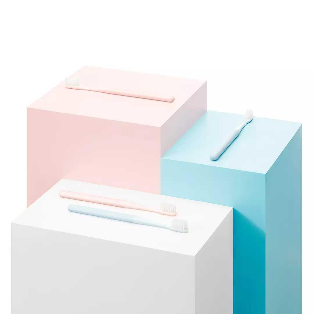 最新のオリジナル xiaomi mijia 歯ブラシより良いワイヤーブラシ輸入超微細ソフトヘアケア歯のため 2 色