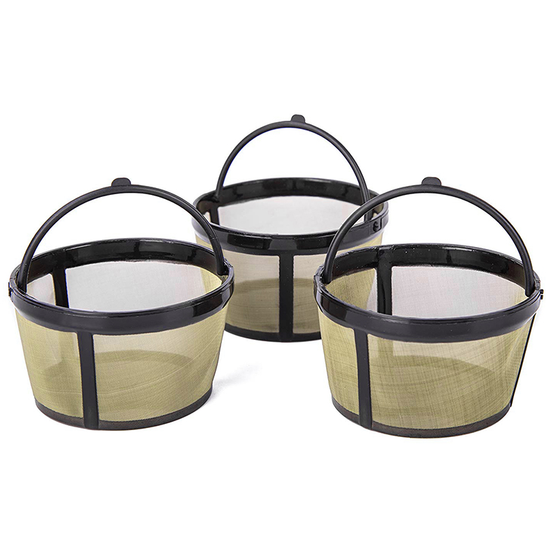 ABSS 3Pcs Coffee Filter For Mr. COFFEE Coffeemakers Coffee Machine with Handle Coffee Filters     - title=