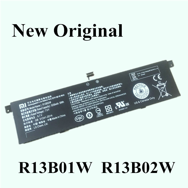 New Original Laptop Replacement Li-ion Battery For  Xiaomi Mi Air 13.3