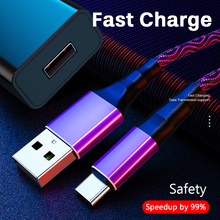 Micro Usb Kabel 5A Nylon Snelle Lading Type C Usb Data Kabel Voor Samsung Huawei Lg Tablet Android Mobiele telefoon Opladen Cord