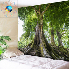 Big Tree Tapestry Large Wall Hanging 3D Boho Indian Mandala Hippie Bohemian Decorative Carpet Cloth