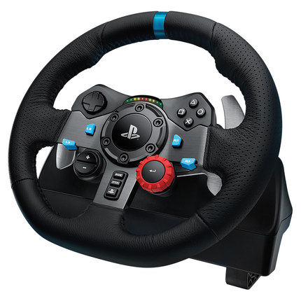 G29 Game Steering Wheel Simulation Driving Car European Truck 900 Degree PS4 Brake G29 Gear Set