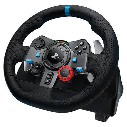G29 Game Steering Wheel Simulation Driving Car European Truck 900 Degree PS4 Brake G29 Gear Set