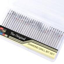 30 шт алмазные сверла для ногтей набор наконечников фреза роторные