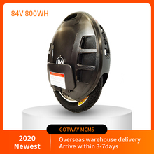 2021 Newest GotWay Mcm5 Electric Unicycle One Wheel Scooter Motor 1500W Battery 84V 800wh LIFE 60-80KM Max Speed 40km/h Portable