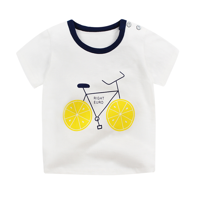 ..Good Quality T-shirt Fashion Casual Short Sleeve Cute Cotton Material Small Size
