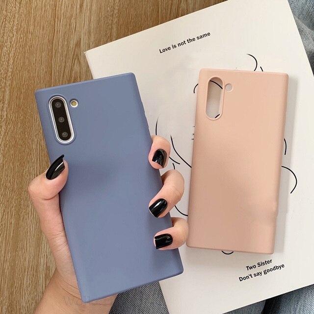 Galaxy Note 10 Liquid Silicone Case 3