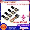 BIGTREETECH TMC5160 V1.2 SPI Драйвер шагового двигателя 6-слойная плата VS TMC2208 TMC2209 3D части принтера для Ender 3/5 SKR V1.3 Pro