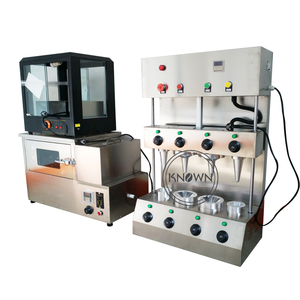 Automatic Pizza Cone Maker / Pizza Cone Making Machine With High Quality with 4 pcs mold|Ice Cream Makers| |  -