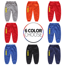 Kids Pants Baby Boys Casual Pants Kids Clothing Cotton Boys Long Trousers Baby Boys Clothing Sport Pants Spring недорого