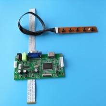 for B156XTN03.5 monitor Controller board 30Pin DRIVER LCD 15.6 EDP DIY SCREEN display 1366X768 KIT VGA for n156bge e31 monitor lcd edp 1366x768 screen display kit vga driver 30pin controller 15 6 board diy