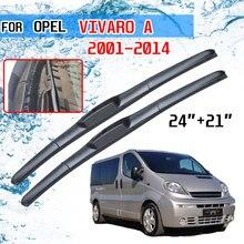 Opel Vivaro 2001 2002 2003 2004 2005 2006 2007 2008 2009 2010 2011 2012 2013 2014 액세서리 자동차 와이퍼 블레이드