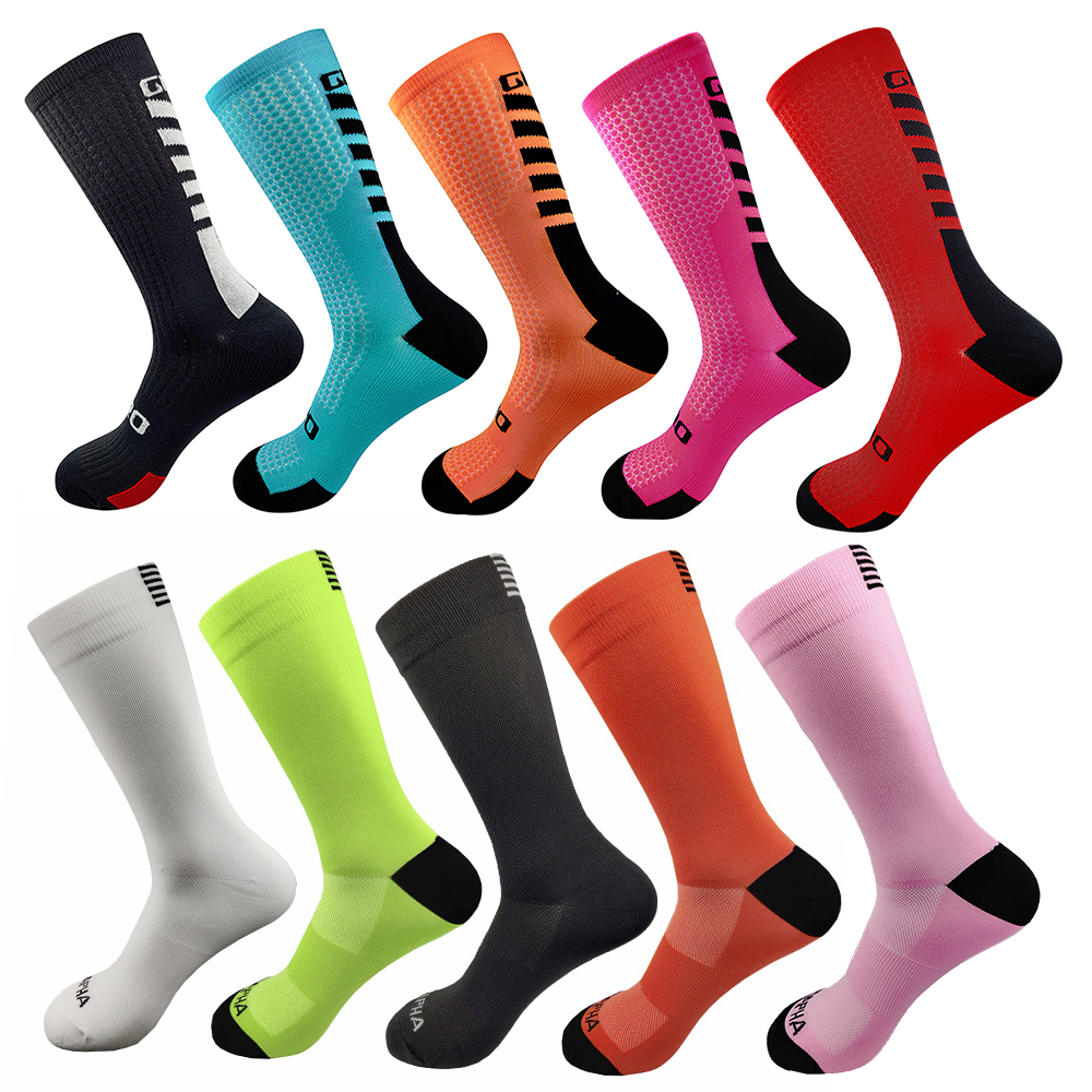 Professional Brand Bike Socks Breathable Outdoor Sports Cycling Socks Baketball Socks Men Women Running Footwear