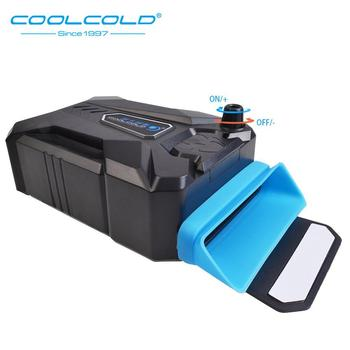 Coolcold Vacuum Portable Laptop Cooler USB Air Cooler External Extracting Cooling Fan for Laptop for 15 15.6 17 Inch Notebook mini portable vacuum usb laptop cooler air extracting exhaust lcd temperature display cooling fan cpu cooler for notebook laptop