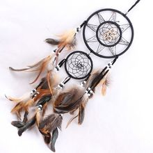 P2018 Creative 1PCS Home Decorations Dream Catcher With Feathers Handmake Wall Hanging Decoration Ornament Gift Hot PGM