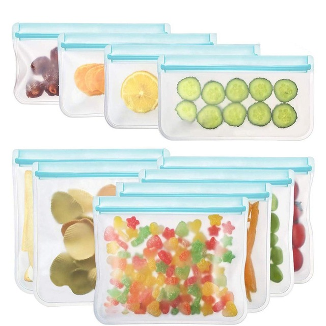 10Pcs-PEVA-Silicone-Food-Storage-Bag-Reusable-Freezer-Bag-Ziplock-Leakproof-Top-Fruits-Lunch-Box.jpg_640x640