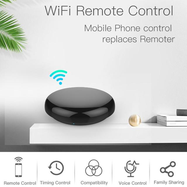 Universal Intelligent Smart Wireless WiFi+IR Switch Remote Controller Infrared Home Control Support for Alexa Google Smart Home