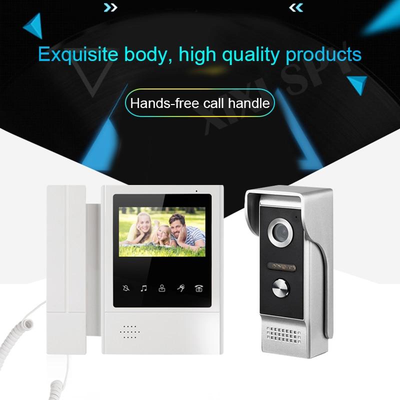 Intercom video doorbell video-eye intercoms for a private house video call home intercom video goalkeeper video entryphone Video