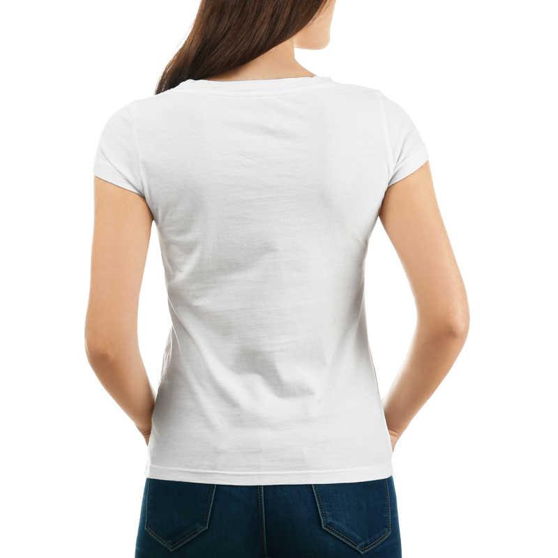 Freddie Mercury TShirt Per Le Donne di Estate Divertente non Smettere di Me Meow Hip Pop Stampa Tee femminile manica corta bianco di base t-shirt
