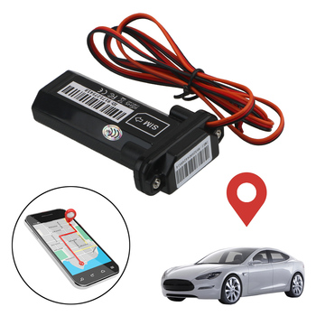 Mini GT02 GSM Vehicle for Car Motorcycle Vehicle Anti-theft Waterproof Builtin Battery Car Tracker With Online Tracking Software image