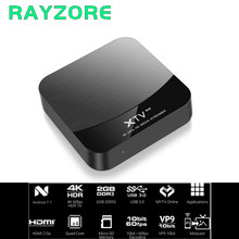 Meelo Plus Xtv Smart Tv Box Android 7.1 Amlogic S905X Iptv Stalker Set Top Box 5G Wifi Bluetooth Youtube netflix Media Player(China)