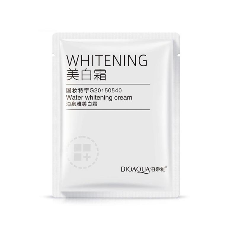 Bioaqua Water Whitening Cream Moisturize Brighten Skin Care Face Cream Mini Sample 3g Cream For Face Korean Face Care