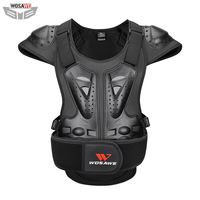 WOSAWE Adult Armor Motorcycle Vest chest back shoulder protection protective gear Motocross Skiing Skating Protective Armor