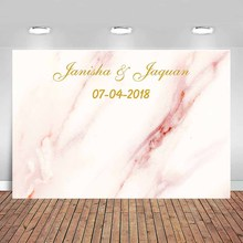 Banner Backdrop Wall-Decoration Table Custom Portrait Wedding-Party Birthday Poster Marble