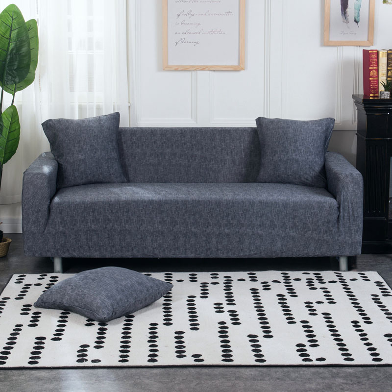 FORCHEER Printed Couch Cover with Elastic and High Density Fiber for Armchairs and Sofa of Living Room 3