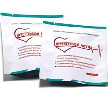 14 шт. = 2 сумки Клиническая гипертония травяные пластыри от гипертонии высокое кровяное давление медицина