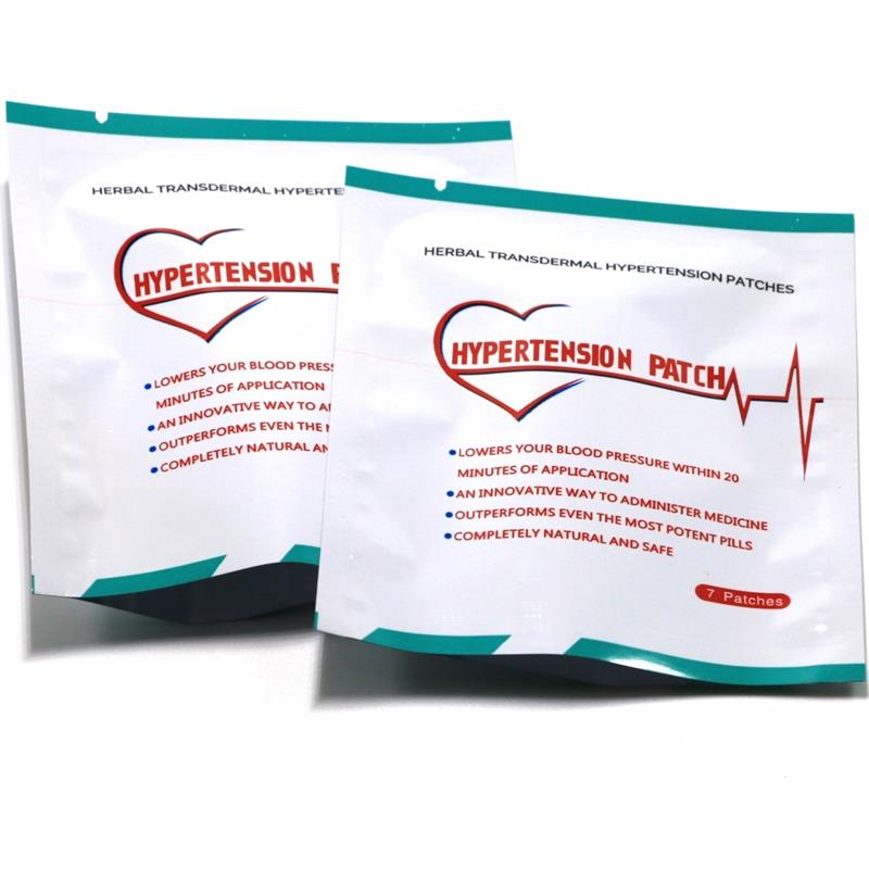 14pcs=2bags Clinical Hypertension Herbal Hypertension Patches High Blood Pressure Medicine image