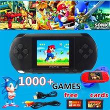 Portable 16 bits rétro Pxp3 mince Station lecteur de jeux vidéo Console de jeu de poche 1pc carte de jeu intégré 150 jeux classiques #3