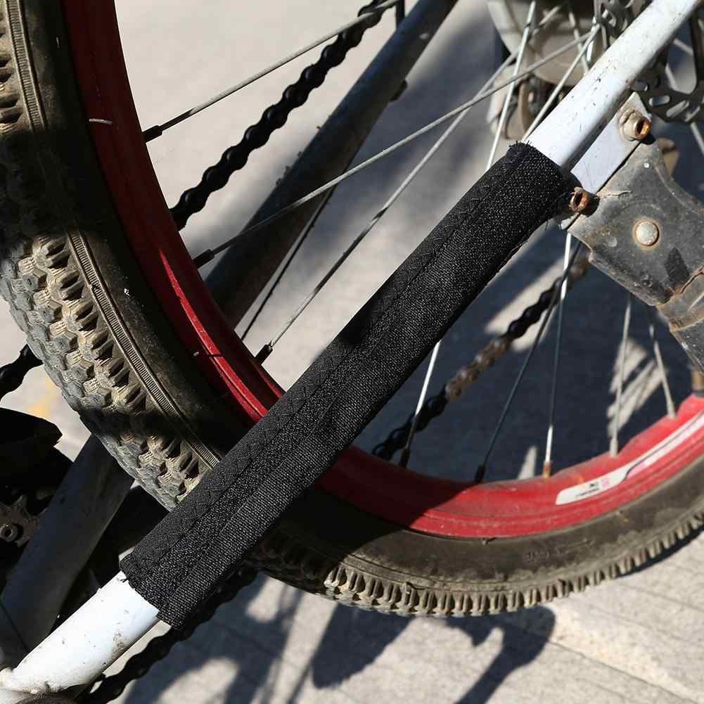 Neoprene ciclismo cuidados com a corrente postada protetores de bicicleta quadro protetor de corrente mtb guarda de cuidado capa chainstay durável