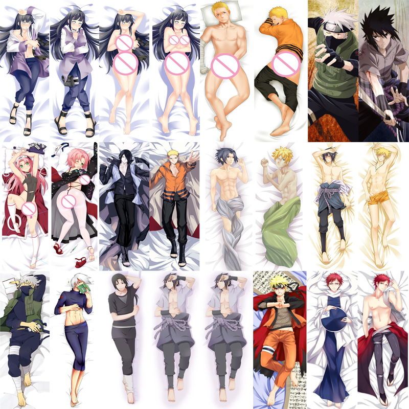 Anime NARUTO Hatake Kakashi Dakimakura Hugging Body Pillow Case Cover Cosplay