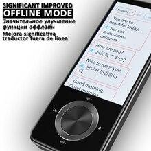 Traductor de voz inteligente portátil Global traductor fuera de línea traductor Traductor inteligente traducción rusa