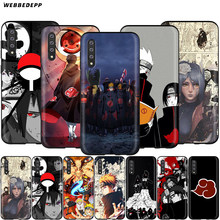 Logotipo Akatsuki Naruto Case for Samsung Galaxy S7 Webbedepp S8 S9 S10 Plus Nota Borda 10 8 9 A10 A20 A30 A40 A50 A60 A70(China)