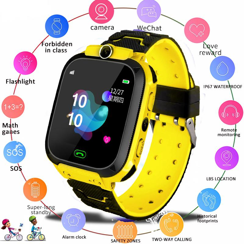 Smart-Watch Tracker Sim-Card Anti-Lost Baby Waterproof Kids Child 2G Sos-Positioning title=