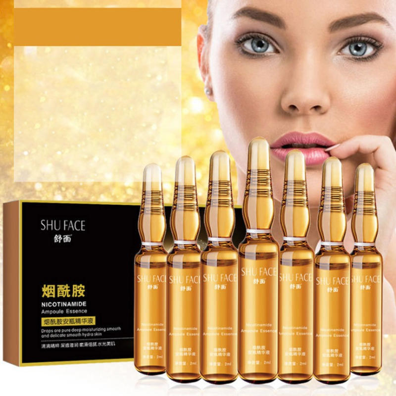 Natural Ampoule Nicotinamide Serum Long-lasting Moisturizing Smooth Fine Lines Remove Freckles Wrinkles Anti-aging Essence