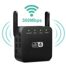 Беспроводной Wi-Fi ретранслятор Wi-Fi удлинитель 300 Мбит/с усилитель WiFi длинного диапазона Wi-Fi усилитель сигнала Ultraboost Wi-Fi повторитель точка доступа
