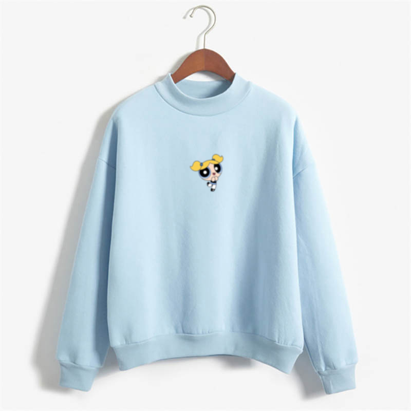 Cartoon Kawaii Bubbles Hoodie Harajuku Fashion Women's Fashion Clothing Sweatshirt Cartoon Print Hoody Girls Autumn Fashion Top